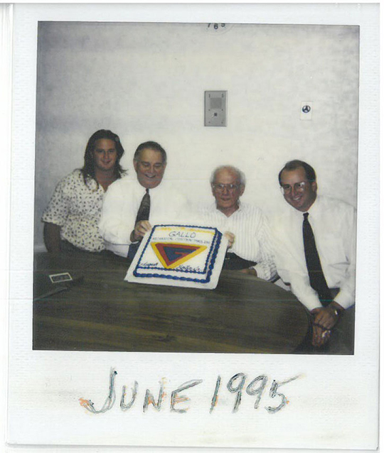 1995 Bryan, August Jr., August Sr. and David Gallo