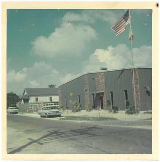 1970s Gallo Mechanical warehouse and office