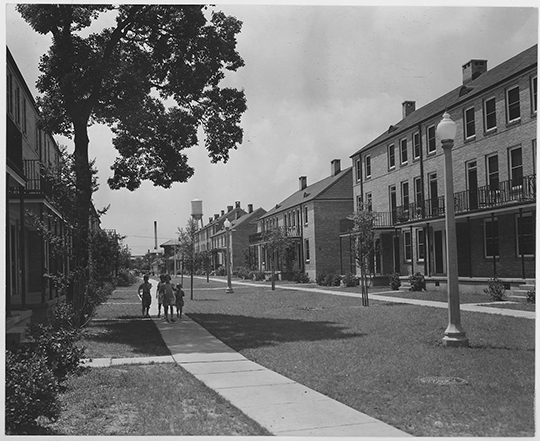 1940s St. Thomas Street housing